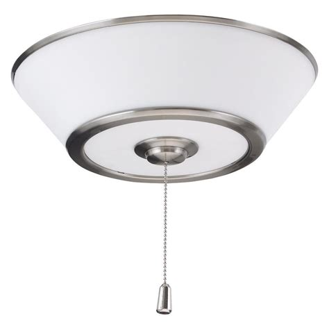 home depot emerson ceiling fans emerson euclid 3 light brushed steel ceiling fan light kit