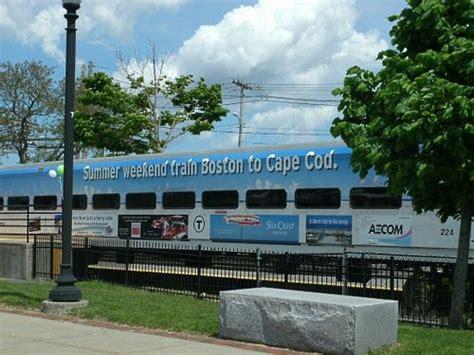 boston cape  passenger train ride  capeflyer
