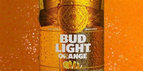 bud light    orange flavor  bud light