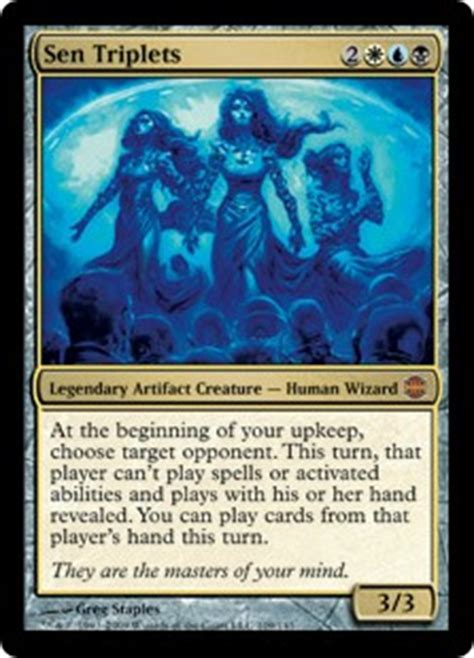 sen triplets alara reborn gatherer magic the gathering