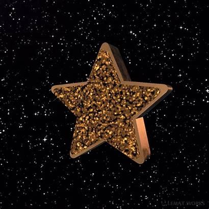 Star Stars Glitter Golden Aesthetic Yellow Gold