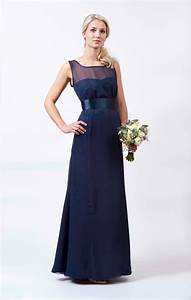 Charlotte navy wedding dress from maids to measure for Navy dresses for wedding