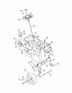 Mtd Model 13ac762f729 Lawn  Tractor Genuine Parts