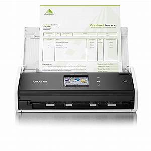 buy brother ads 1600w compact network and wireless 2 sided With 2 sided document scanner