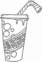 Coloring Milkshake Pages Strawberry Fries French Printable Coffee Supercoloring Smoothies Sheets Category Drawings Drinks Colouring Drawing Crafts Milkshakes Getcolorings Bible sketch template