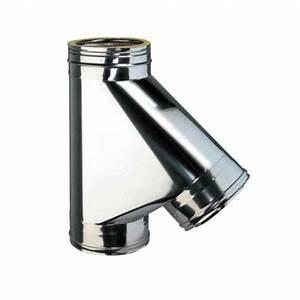 Tubage Inox Double Paroi Prix : t 135 inox pour raccordement tubage conduit double ~ Premium-room.com Idées de Décoration