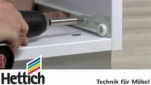 Soft Close Schublade : montage von rollschubf hrungen hettich f r heimwerker youtube ~ Orissabook.com Haus und Dekorationen