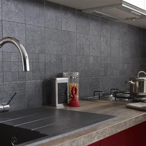 faience credence cuisine carrelage sol et mur anthracite vestige l 15 x l 15 cm