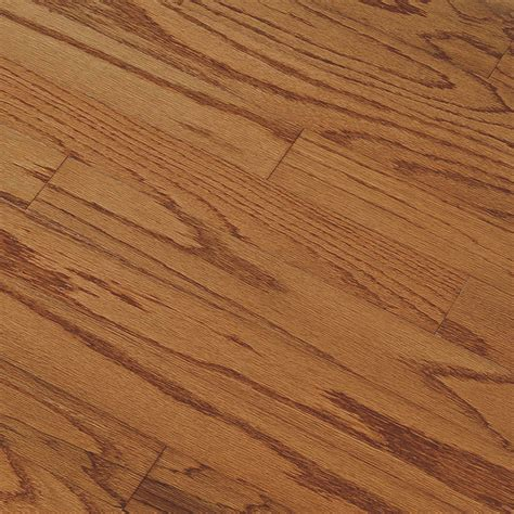 hardwood flooring prefinished shop bruce springdale plank 3 in w prefinished oak engineered hardwood flooring gunstock at