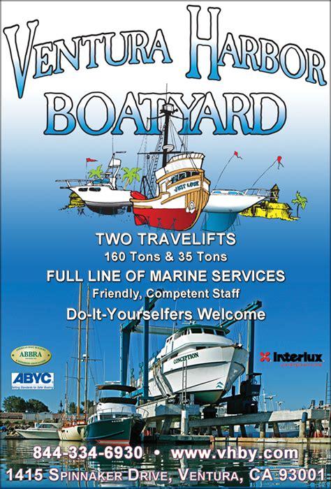 Boat Supplies Ventura Ca by Ventura Harbor Boat Yard Inc Ventura Ca 93001 Boatersbook