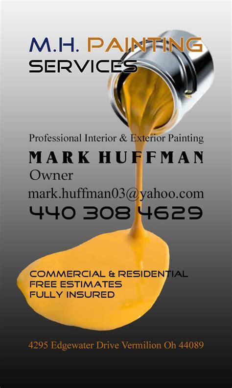 painter business card painter business card