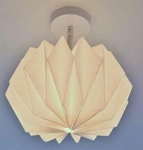 Abat Jour Origami : lampe origami faire soi m me 10 designs cr atifs origami bricolage and origami mobile ~ Teatrodelosmanantiales.com Idées de Décoration