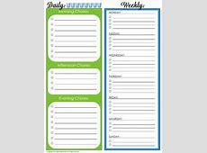 Create a Chore Chart that Works Creative Chore Charts