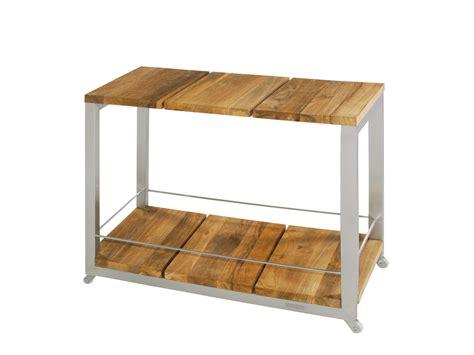 table desserte en bois
