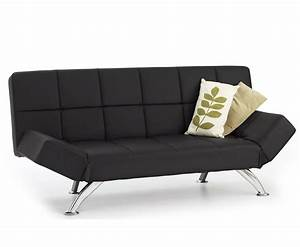 venice 4ft black faux leather sofa bed just 4ft beds With 4 foot sofa bed