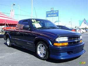 2001 Indigo Blue Metallic Chevrolet S10 Extended Cab