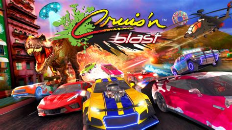 Cruis'n Blast is Coming to Switch This Fall