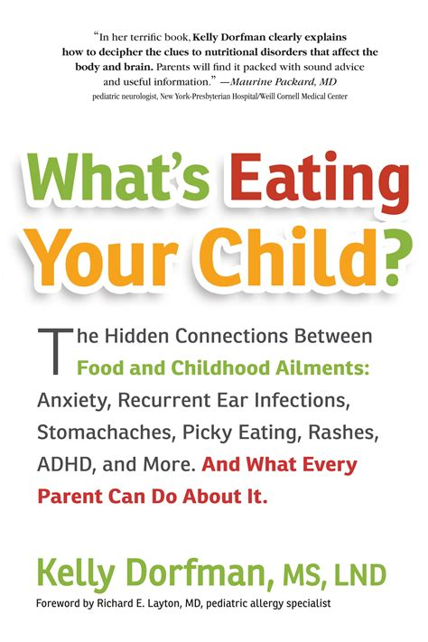 Book Review Whats Eating Your Child By Kelly Dorfman