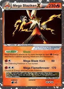 Mega Blaziken Pokemon card