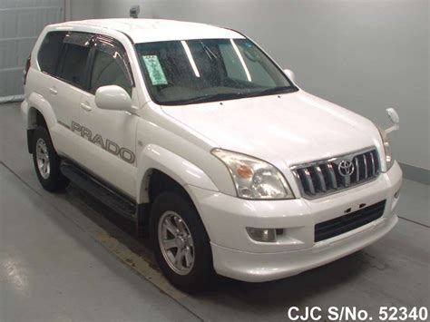2002 Toyota Land Cruiser by 2002 Toyota Land Cruiser Prado White For Sale Stock No