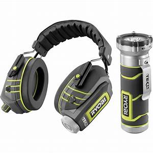 Casque Protection Auditive : set casque de protection auditive ryobi rp4530 lampe torche led 4v ryobi rp4400 ~ Nature-et-papiers.com Idées de Décoration