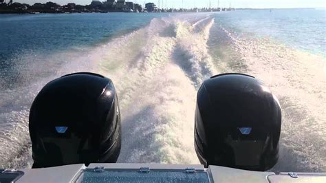 Freeman Boats With Seven Marine by Freeman 37 With Seven Marine 557 S Youtube