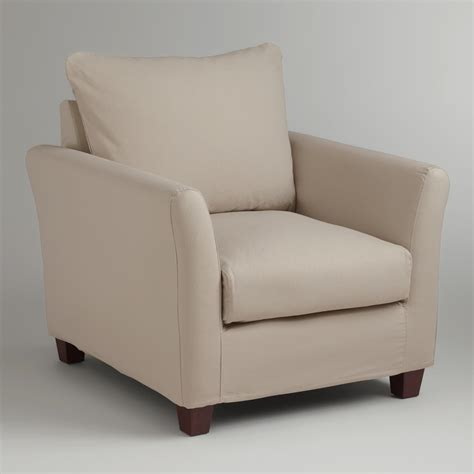 World Market Luxe Sofa Slipcover by Luxe Chair Slipcover World Market