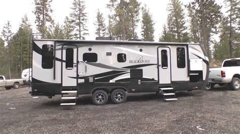 New 2015 Blackstone Luxury Travel Trailers  Youtube