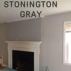 Owl vs Stonington Gray Benjamin Moore