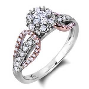 lugaro fancy pink forevermark engagement ring - Fancy Engagement Rings