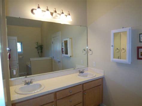 Simple Large Bathroom Mirrors