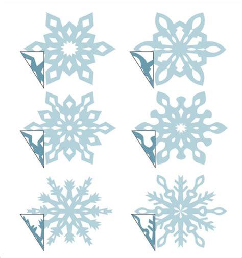 snowflake template snowflake template 7 free pdf