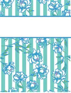 Cute Printable Binder Covers