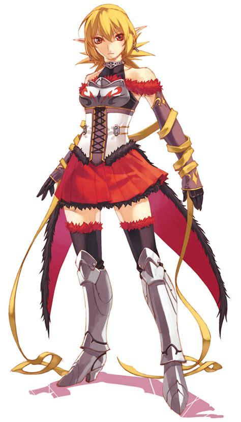 Roze - Characters & Art - Spectral Souls II