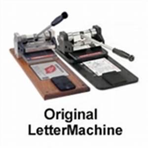 ellison supplies for discontinued machines With ellison letter machine