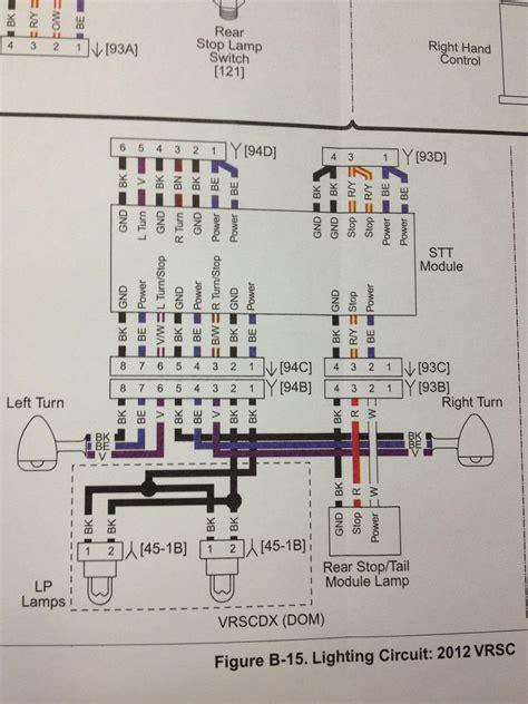 turn signals rewire 1130cc the 1 harley davidson v
