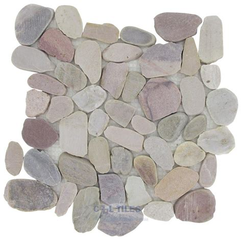 flat pebble mosaic tile cooltiles com offers spa tile sta 131827 home tile flat pebble tile by spa tile flat pebbles