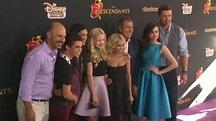 Cast and crew of Disney's 'Descendants' at the Disney's ...