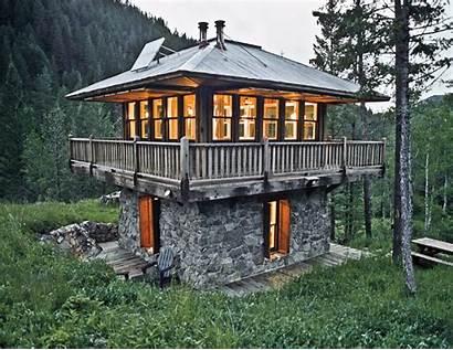 Tiny Homes Cabin Cabins Lloyd Kahn Montana