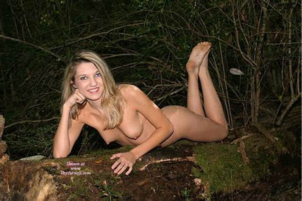 #Nude #Blonde #With #Dirty #Feet #Showing
