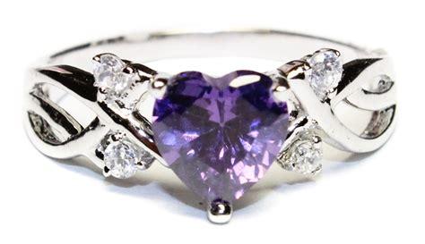 Amethyst (purple) Heart Shaped Promise Ring  Beautiful. Beach Bracelet. Hoop Rings. Magic Pendant. 7ct Diamond. Jewelry Brooch. Faceted Diamond. Infinite Engagement Rings. Male Engagement Rings
