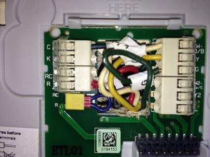 Honeywell WiFi Smart Thermostat Wiring - Home Improvement ...
