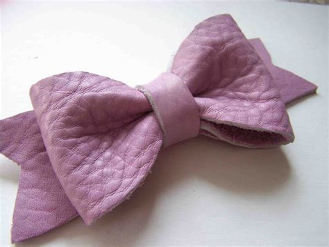 leather bow made by me shared with you leather bow tutorial and template