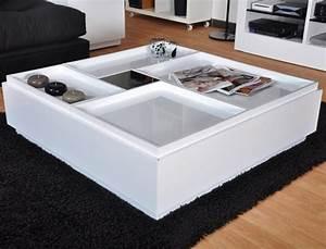 Table Basse Moderne Pas Cher : table de salon design pas cher table verre salon maisonjoffrois ~ Teatrodelosmanantiales.com Idées de Décoration