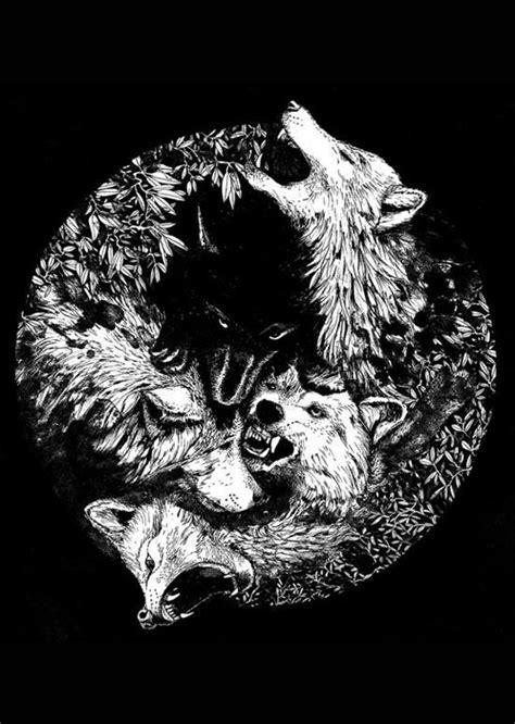 wolf art tumblr