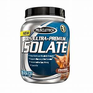 Muscletech 100   Ultra Premium Isolate Whey Protein Chocolate 2 Lbs