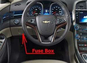 Fuse Box Diagram Chevrolet Malibu  2013