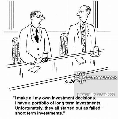 Decisions Investment Term Short Cartoon Cartoons Funny