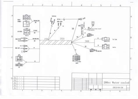 Redcat Wiring Diagram by Electrics 250 Cc Zongshen Loncin Stator Magneto Coil Kill