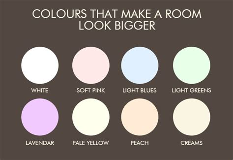 what color paint make room look bigger